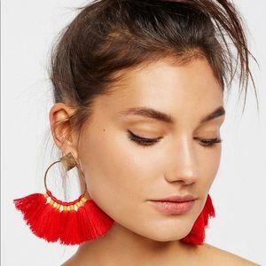 Full bloom Free People Fan earrings